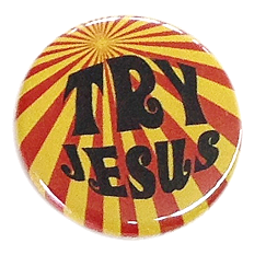 "Button ""Try Jesus"""