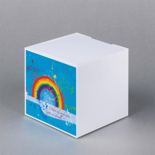 """Zettelbox """"Regenbogen"""""""