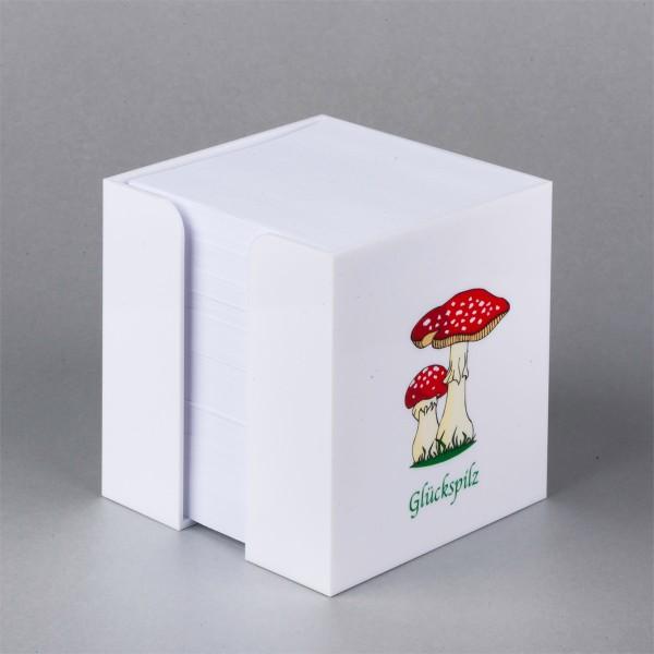 Zettelbox Glückspilz