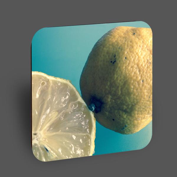 "Holzpostkarte ""Zitronen"""