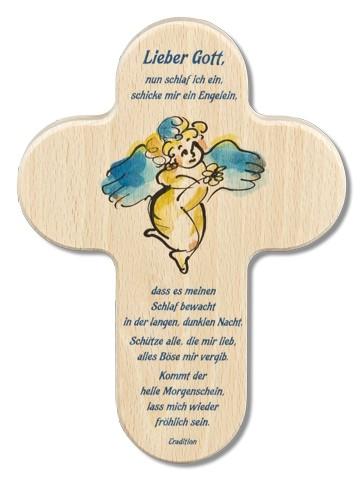 """Kinderkreuz """"Lieber Gott nun schlaf ich ein..."""""""