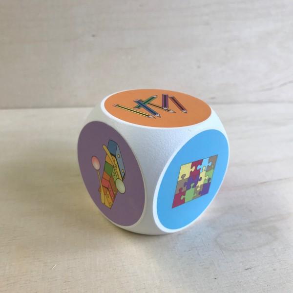 Aktivitäts-Würfel für den Kindergarten
