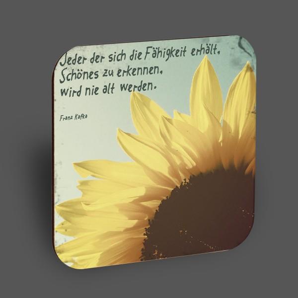 """Holzpostkarte """"Schönes erkennen"""""""