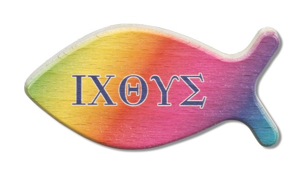 """Handschmeichler Fischform """"IXOYE"""""""
