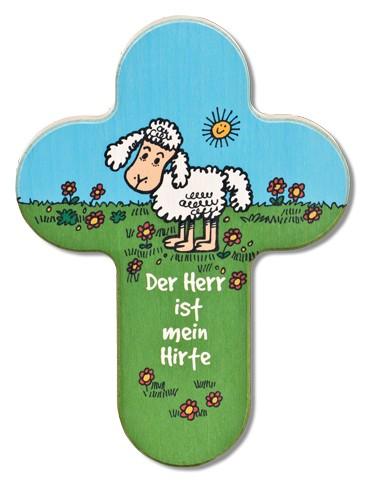 """Kinderkreuz Schaf """"Der Herr ist mein Hirte"""""""