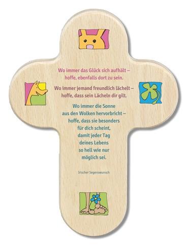"""Kinderkreuz """"Wo immer das Glück sich aufhält..."""""""