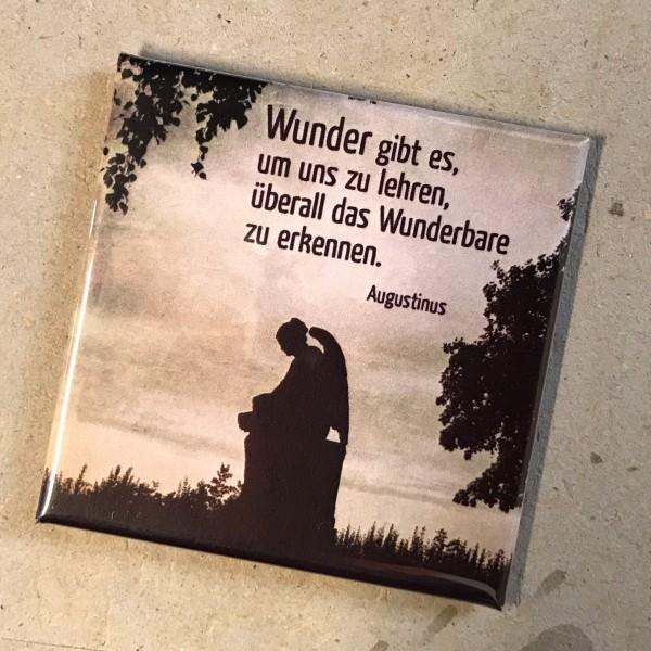 """Kühlschrankmagnet Engel """"Wunder gibt es"""""""