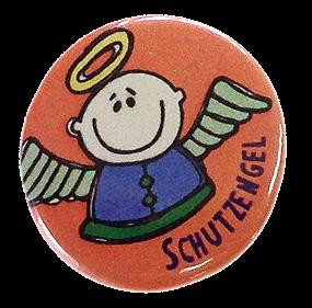 "Button ""Schutzengel"""