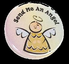 """Button """"Send me an Angel"""""""