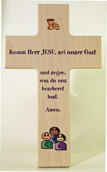 "Holzkreuz ""Komm Herr Jesu"""