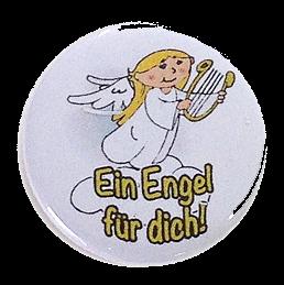 """Button """"Ein Engel für dich"""""""